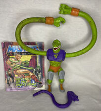 MOTU Sssqueeze Masters of the Universe He-Man complete figure Squeeze Comic READ