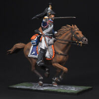 Tin soldier, French 5th Cuirassier Trooper, Napoleonic Wars, 54 mm