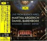 MARTHA ARGERICH-LIVE FROM BUENOS AIRES-JAPAN SHM-CD F83