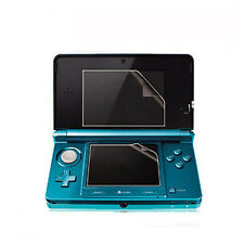 New Clear Top +Bottom LCD Screen Cover Guard Skin Film For Nintendo 3DS XL LL