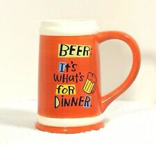 New Big and Tall Mug for beer 7""