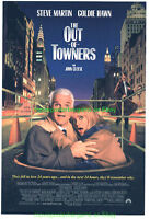 THE OUT OF TOWNERS MOVIE POSTER DS 27x40 STEVE MARTIN GOLDIE HAWN