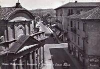 NIZZA MONFERRATO (ASTI) - PIAZZETTA S. GIOVANNI - RARA CARTOLINA - ANNI '40