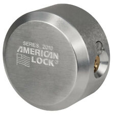 MAX!! American Lock A2010NKA Keyed Alike Bump Stop Solid Steel Hidden Shackle