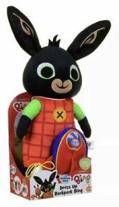 Bing Dress up Backpack 28cm Soft Toy