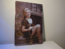 Maryln Monroe  metal sign 20x30 cms Decorate your room,bar,garage,mancave