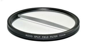 72mm Split Field Filter +2 Diopter