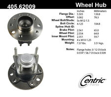 Wheel Bearing and Hub Assembly-Premium Hubs Rear Centric 405.62009E