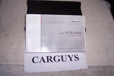 2005 NISSAN XTERRA   OWNERS MANUAL WITH  CASE