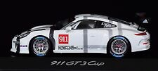 PORSCHE 911 (991) GT3 Cup 1:43 Spark Porsche dealer's box model WAP-020-911-0G
