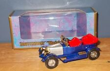 Matchbox Yesteryear Y2 Prince Henry Vauxhall Blue Bright Red Seats Issue 5