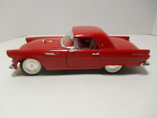 1990  Revell  '1955 Red Ford Thunderbird Convertible w/ Hard Top' die-Cast  1/18