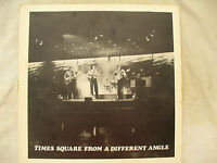 TIMES SQUARE LP FROM A DIFFERENT ANGLE signed .........33 rpm