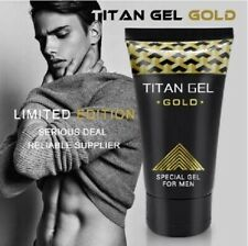 New TITAN GEL GOLD- Powerful Penis Enlarger Lubrificant for Men MAX SIZE PENIS!