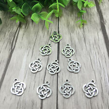10pcs Jewelry Findings Charms Pendants Tibetan Silver Celtic pagan knot