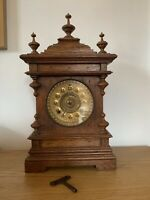 Gorgeous Impressive Large Ansonia Finial Mantle Clock 8day Strike.. C 1890