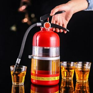 Wine Drink Dispenser Fire Extinguisher Beverage Liquor Ba Beer Water Barrels 2L