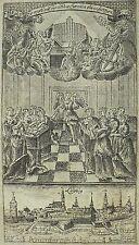 LEIPZIG - Gesamtansicht - Hofmann - Kupferstich 1750