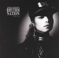 Janet Jackson Rhythm Nation 1814 ORIGINAL 1989 AAD CD FREE US SHIPPING