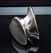 Mid Century Modernist Georg Jensen Denmark Sterling Ring #140, US Size 5.5