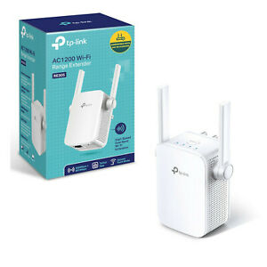 TP Link RE305 AC1200 WiFi Range Extender Wall Plugged Dual band TPLink VS