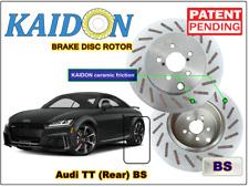 "AUDI TT disc rotor KAIDON (Rear) type ""BS"" / ""RS"" spec"