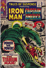 Tales Of Suspense #93 Vf- To Vf