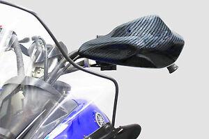 Yamaha Nytro snowmobile handle bar hand guards wind deflectors Carbon Fiber GYTR