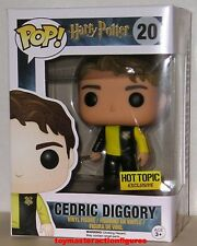 FUNKO POP 2016 HARRY POTTER CEDRIC DIGGORY #20 HOT TOPIC EXC Figure IN STOCK