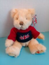 Harrods Knightsbridge Teddy Bear Plush Toy w/Sweater - Euc