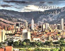 Colombia - MEDELLIN - Travel Souvenir Flexible Fridge Magnet
