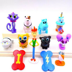Puppy Dog Pals Rolly Hissy Cartoon Doll Gift Action Figure Kids Toy 12 PCS