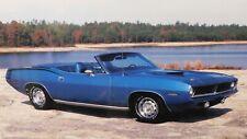 1970 PLYMOUTH CUDA CONVERTIBLE BLUE