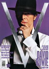 V Magazine David Bowie by Mario Testino for V18 July/August 2002.