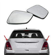 Pair Wing Door Side Wing Mirror Glass Heated Fit For CHEVROLET Trax 2015-2018
