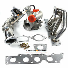 "K0422 582 turbocharger+Exhaust Manifold+3"" Down Pipe FOR Mazdaspeed 3&6 2.3L NEW"