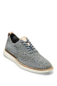 Cole Haan Mens Original Grand Stitch Lite Wingtip Lace Up Casual  Shoes Oxfords