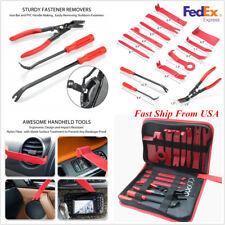 19 Pcs Car Door Panel Trim Radio Fastener Clips Plier Removal Tools USA Shipping