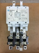 Westinghouse A200M3CAC 600V Size 3 Motor Starter Size 120V Coil Contacts Look A1