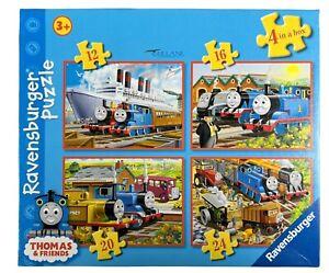Ravensburger - Thomas & Friends 4 in a Box Jigsaw Puzzles - Thomas The Tank