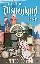 DISNEYLAND PIN MARIE CAT FROM ARISTOCATS PIECE OF HISTORY LE PIN FRENCH MARKET