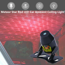 Meteor Star Red LED SUV Car Ambient Ceiling Light USB Galaxy Lamp Projector Kit