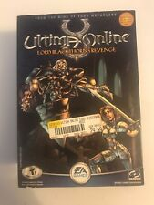 Ultima Online: Lord Blackthorn's Revenge (Pc, 2002) Box And Figure Only