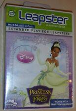 Leap Frog LEAPSTER 1 I 2 II Juego Disney La Princesa y la rana completo
