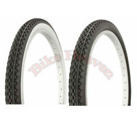"1 PAIR Tire Classic Diamond Style 24"" x 2.125 Bicycle Tire Cruiser Bike CRUISER"