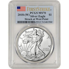 2018-(W) American Silver Eagle - PCGS MS70 - First Strike