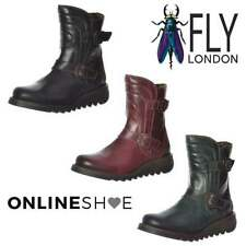 Zip 100% Leather Standard Width (D) Boots for Women