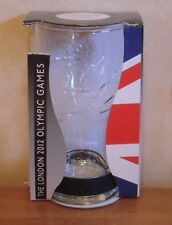 Coca Cola London 2012 Olympics Glass & Black Wristband Coke Boxed (Tatty) Unused