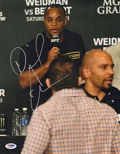 DANIEL CORMIER SIGNED AUTO'D 11X14 PHOTO PSA/DNA COA AA54592 UFC RYAN BADER