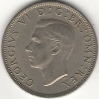 1948 George VI Half Crown | British Coins | Pennies2Pounds